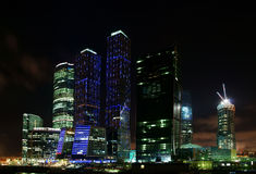 бизнес-центр Стоковое фото RF