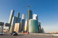 Бизнес-центр MIBC Москвы международный Стоковое Фото