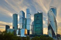 Бизнес-центр MIBC Москвы международный Стоковые Фото