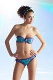 бикини покрасило лето девушки Стоковое Фото