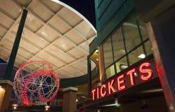 билеты бейсбола стоковое фото
