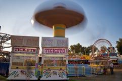 билеты езды ярмарки графства стоковое изображение