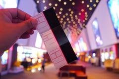 Билеты кино Стоковое Фото