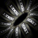 билеты кино Стоковая Фотография