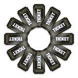 билеты кино Стоковое Изображение
