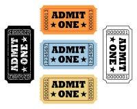 Билеты кино Стоковое Изображение RF