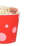 билеты попкорна детали Стоковое Фото
