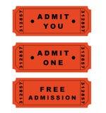 билеты Стоковая Фотография RF