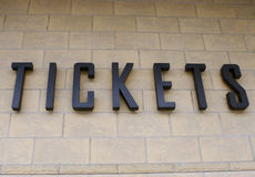 билеты Стоковое фото RF