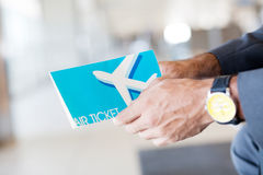 билет воздуха стоковое фото rf
