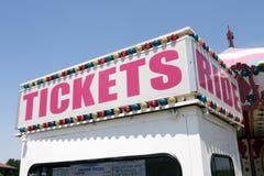 билет езды к стоковые изображения