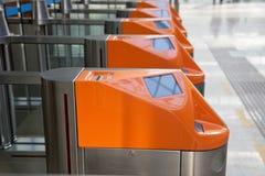 билет железнодорожного вокзала строба стоковые фотографии rf