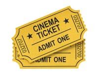 билет кино Стоковые Фото