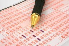 билет пер лотереи стоковое изображение rf