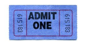 билет согласия Стоковое Изображение