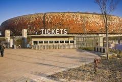 билет стадиона fnb будочки Стоковое Изображение RF