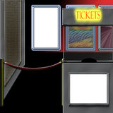билет театра будочки Стоковые Изображения RF