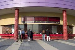 билет театра зоны Стоковое Изображение