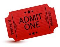 билет Стоковые Фото
