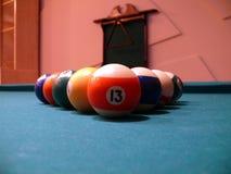 биллиарды шариков Стоковое Изображение