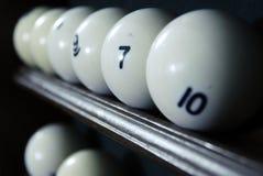 биллиард шариков Стоковая Фотография