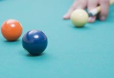 биллиард шариков Стоковое Фото
