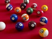 биллиард шариков Стоковое Изображение
