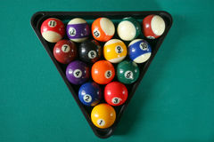 биллиард balls5 стоковое фото rf