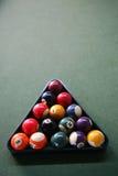 биллиард шариков Стоковые Изображения RF