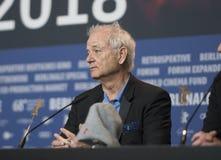 Билл Мюррей на пресс-конференции победителей награды Berlinale Стоковая Фотография RF