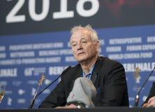 Билл Мюррей на пресс-конференции победителей награды Berlinale Стоковое Изображение