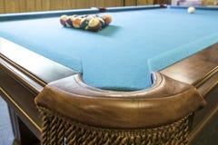 Бильярдный стол стоковое фото rf