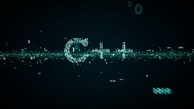 Бинарная синь ключевых слов C++ иллюстрация штока