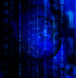 бинарный глобус Стоковые Изображения RF