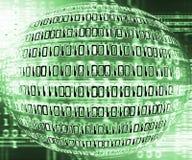 бинарный глобус Стоковая Фотография RF