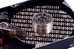 бинарный диск трудный Стоковая Фотография