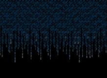 бинарный Код 2 иллюстрация вектора
