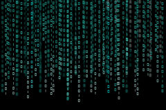 бинарный Код стоковое фото