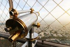 Бинокли Эйфелева башни Парижа Стоковая Фотография RF