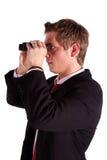 бинокулярное использование человека Стоковая Фотография RF