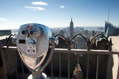бинокулярное New York Стоковое Изображение RF