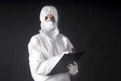 биологические swine предохранения от гриппа платья Стоковое Изображение RF