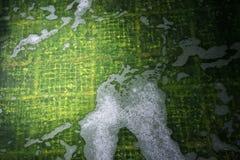 Биологическое очищение нечистот на заводе обработки сточных вод стоковое фото
