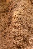 биотоплива биомассы куча в отношении к окружающей среде содружественная Стоковая Фотография RF