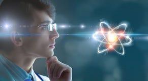 Биохимия и технологии Мультимедиа стоковые фотографии rf