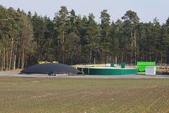 био завод газа Стоковая Фотография RF