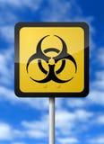 био знак опасности Стоковая Фотография RF