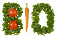Био овощ Стоковая Фотография