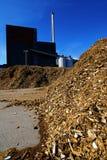 био хранение силы завода топлива деревянное Стоковое фото RF