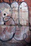 Бирка граффити уродского гетто противозаконная Стоковое Изображение